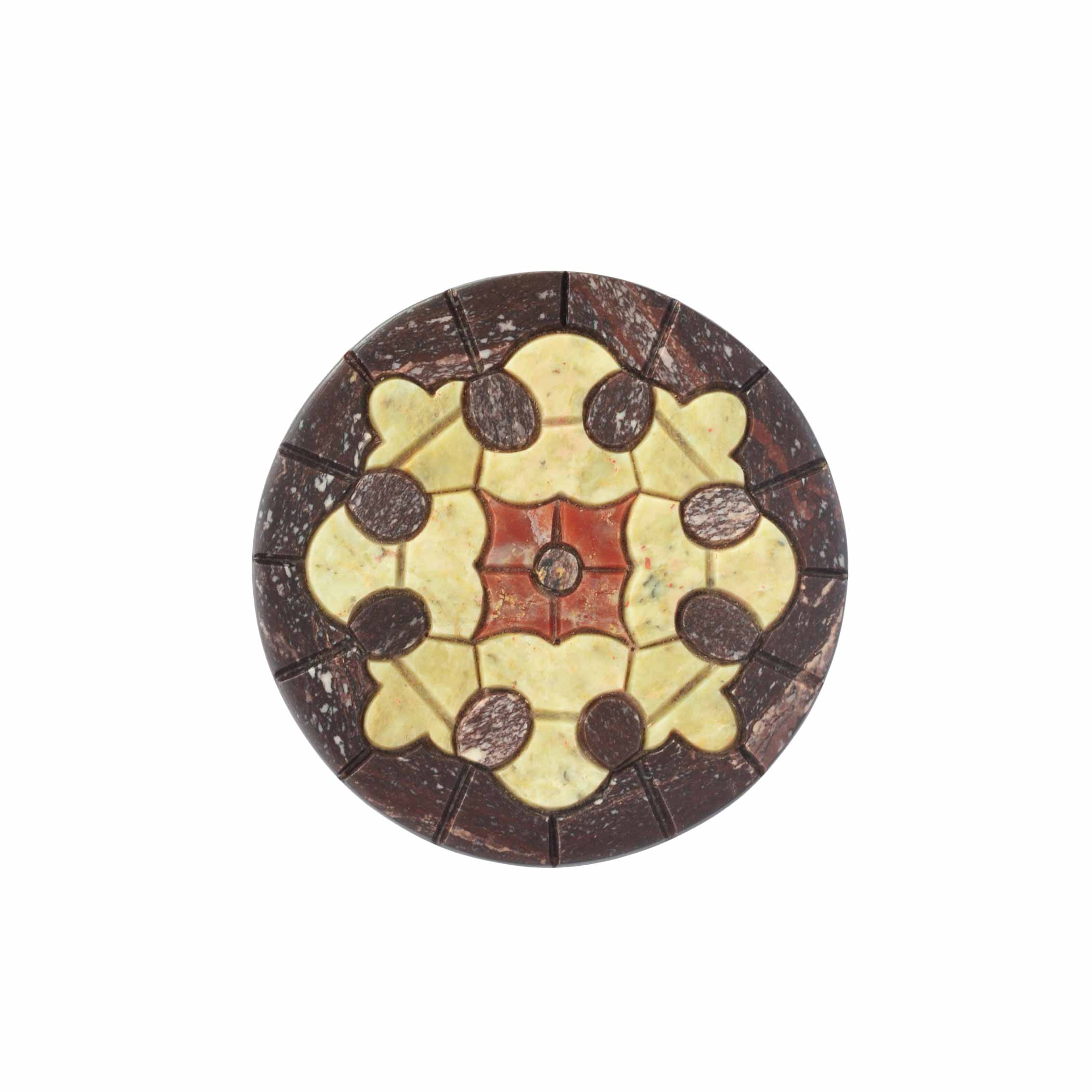 Set Of 6 Mosaic Coasters Design 2 Ishatvam