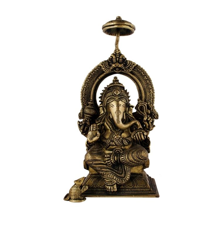 Brass-Ganesha