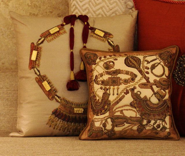 Soft furnishings - Apsara Cushion cover