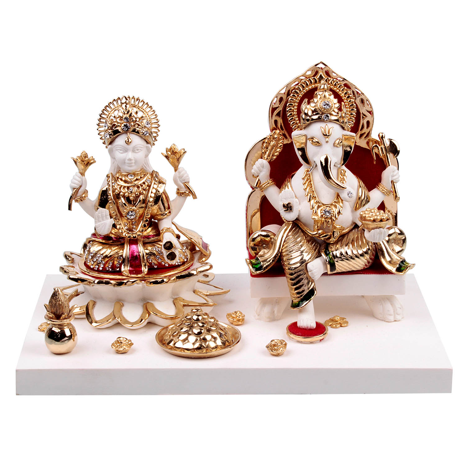 ganesh with laxmi