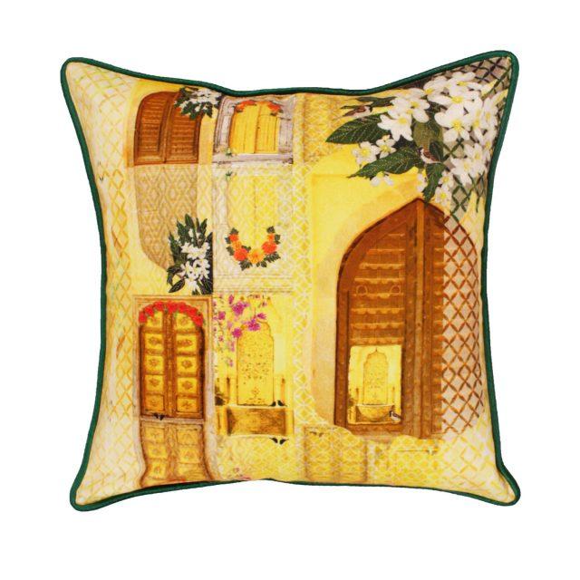 songs of summer cushion green