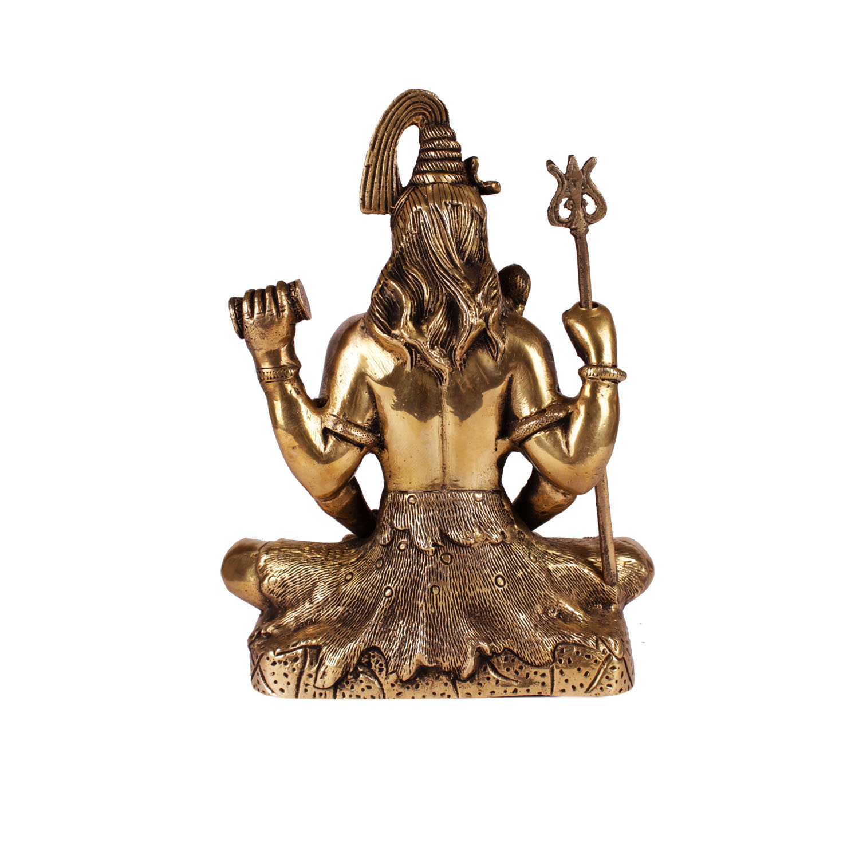 Brass shiva 1
