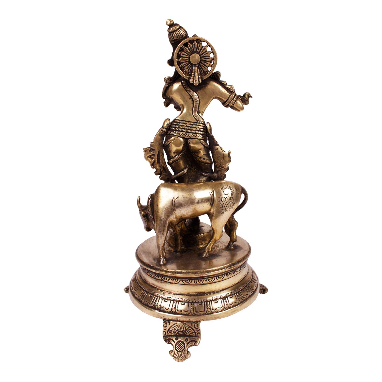 brass krishna 1